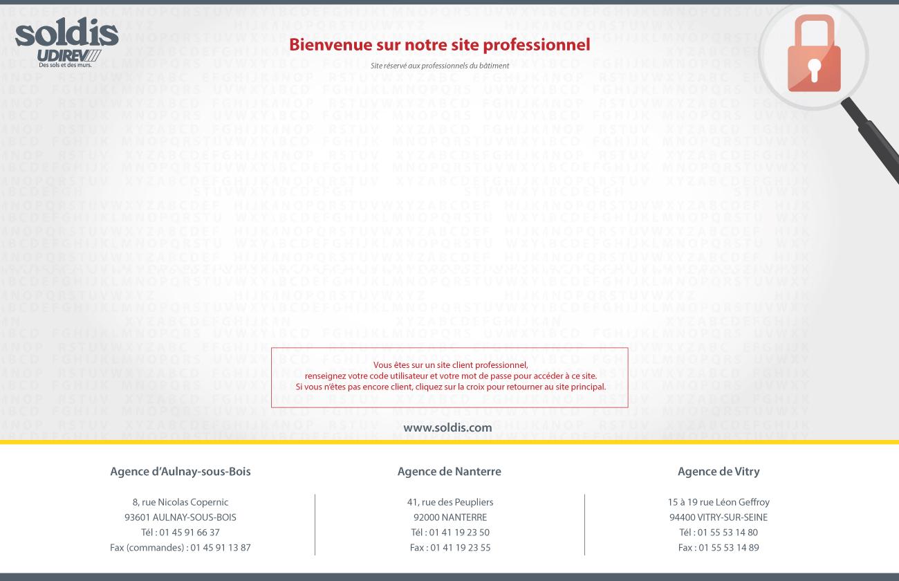 Bienvenue Sur Le Site Client Professionnel Soldis